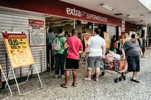 A supermarket in Lapa, Rio de Janeiro
