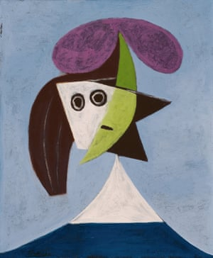 Woman in a Hat (Olga) by Pablo Picasso, 1935.