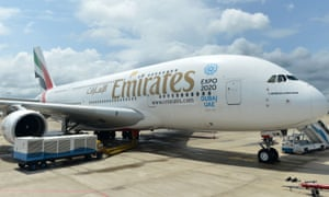 The Hong Kong government has banned all Emirates flights from Dubai and Bangkok.