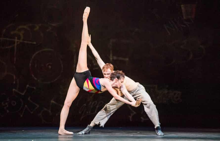 Edward Watson and Lauren Cuthbertson in The Judas Tree.