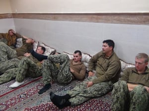 The captured American troops. The US secretary of state, John Kerry, thanked Iran for the swift resolution of the incident