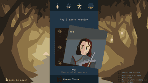 Arya in Reigns: Game of Thrones