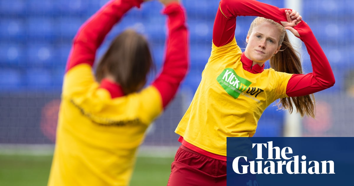 Amy Rodgers: It felt as  if Id been a Liverpool fan all my life