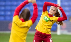 Liverpool's Amy Rodgers