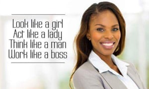 Section of Bic South Africa's women's day ad.