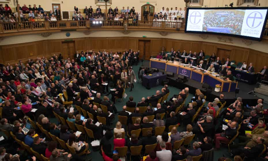 The general synod at Church House in London