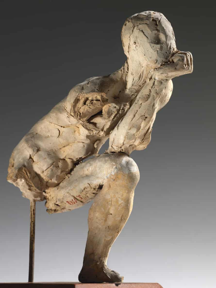 Stupendous ... Study for The Thinker - Auguste Rodin.