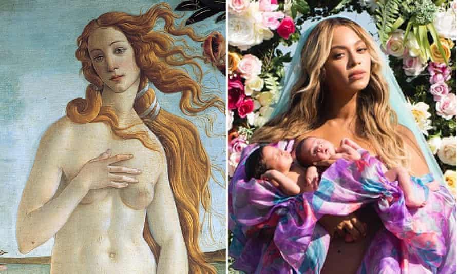 Botticelli's Venus and Beyoncé.