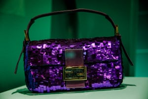 A sequinned Fendi baguette bag from Sex and the City