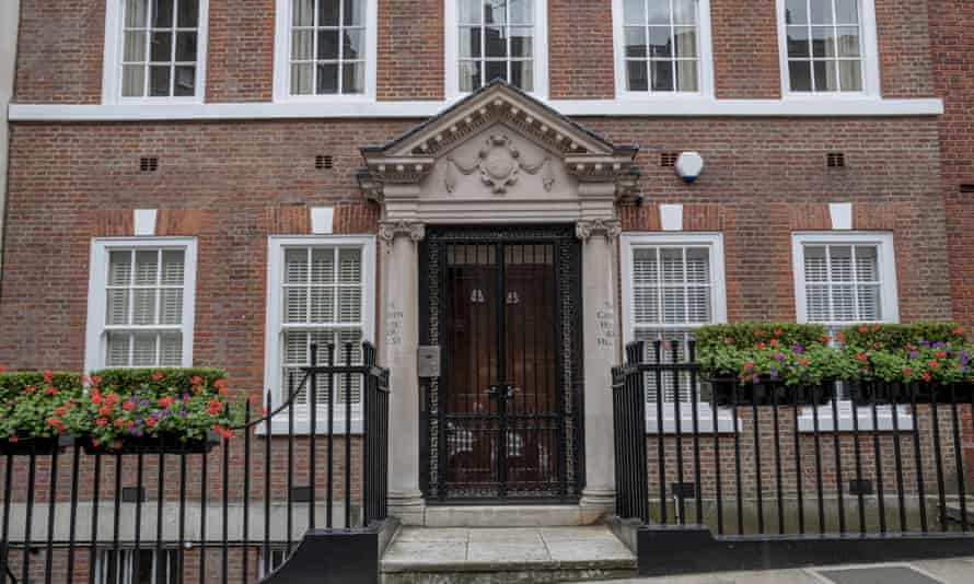 Lady Scotland's official residence in Mayfair.