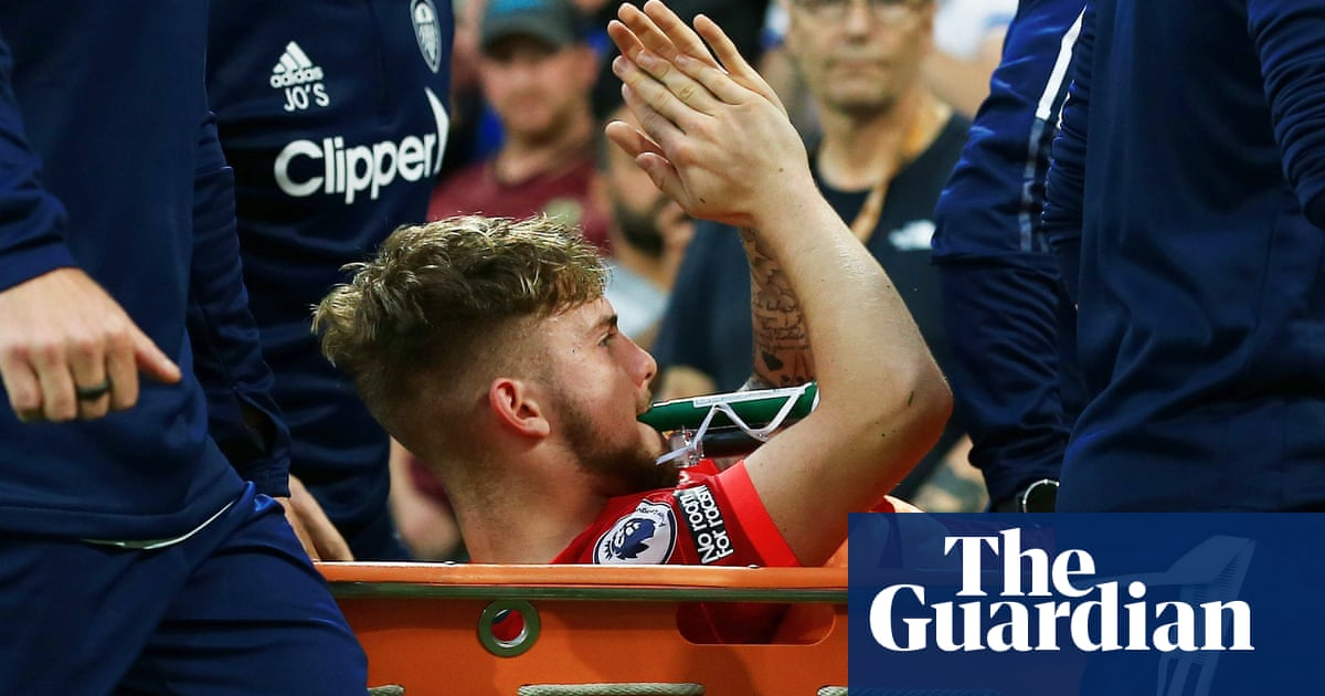 Liverpool's Harvey Elliott 'overwhelmed by the love' after suffering injury
