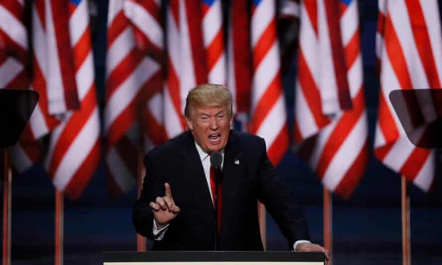 Donald Trump: 'Our convention occurs at a moment of crisis for our nation.'