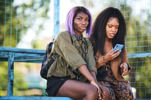 Michaela Coel and Weruche Opia in I May Destroy You.
