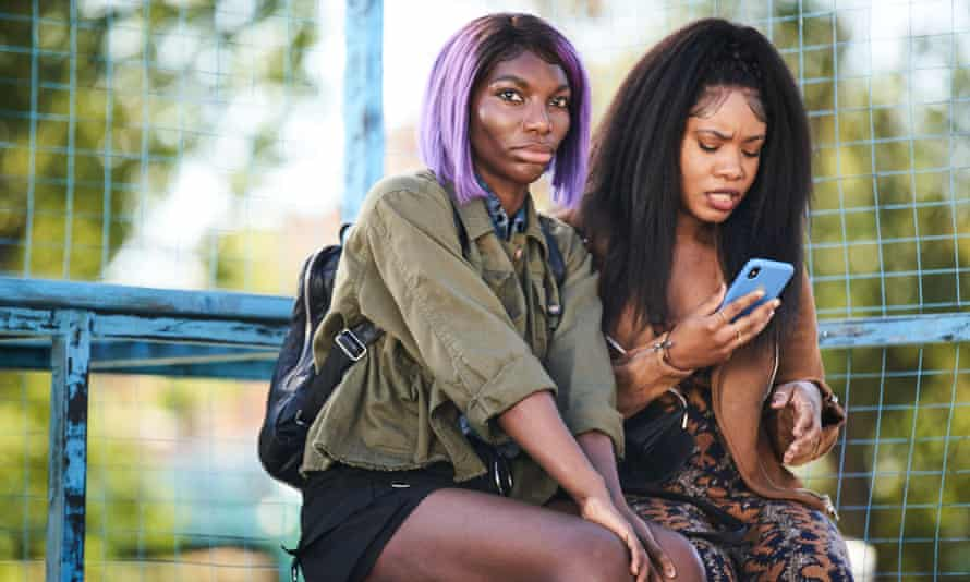 Survival skills ... I May Destroy You's Arabella (Michaela Coel) and Terry (Weruche Opia).