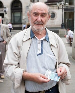Jack Saltman: 'I quite like this gold Big Ben.'