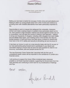 Amber Rud resignation letter page 2