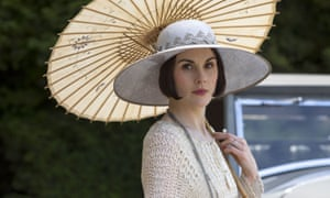 It's Michelle Dockery as Not Maggie Smith – or rather, Lady Mary.