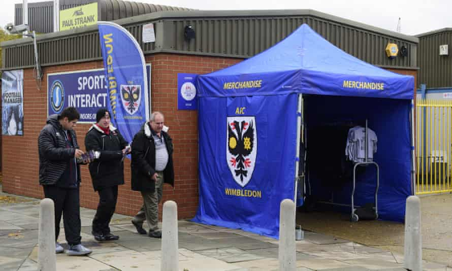 AFC Wimbledon are owned by supporters but a plan has been put forward to sell shares in order to raise money for a new stadium.