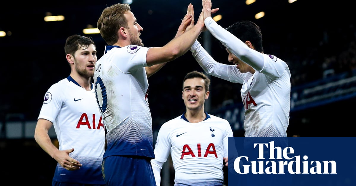 01e791e07 Harry Kane and Son Heung-min star in Spurs  six-goal demolition of ...