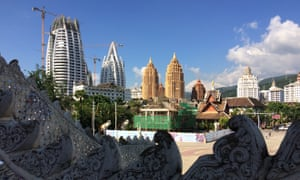 The stampede of tourists and developers has transformed Jinghong's skyline over the past decade.