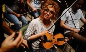 Violinist Sousan Eskandar