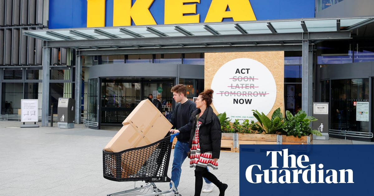 Ikea profits fall 10% as retailer invests in online operation