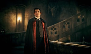 King of the castle … Claes Bang as Count Dracula