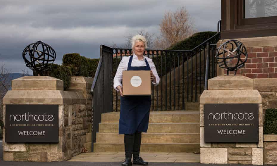 Really delivers… Lisa Goodwin-Allen, head chef at Northcote.