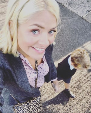 Holly Willoughby and son going back to school