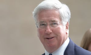 Michael Fallon said: 'The DUP is not getting this money. The money is going to invest in the people of Northern Ireland.'