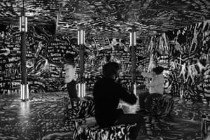Chalkroom - courtesy of the artists, Laurie Anderson and Hsin-Chien Huang.