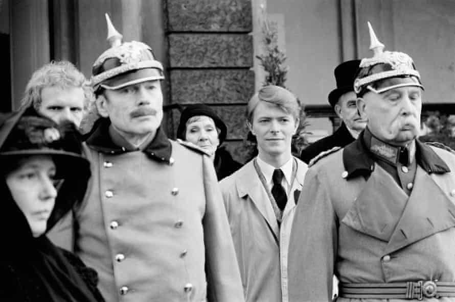 David Bowie on the Set of Just a Gigolo in Berlin, February 1978.