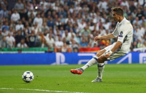 Cristiano Ronaldo fires in the third.