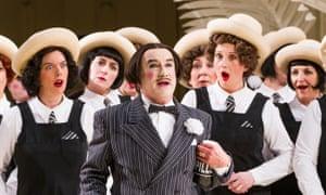 Richard Suart (Ko-Ko) in a 2015 ENO production of The Mikado by Gilbert and Sullivan