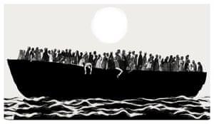 Boat, 2015 by David Foldvari
