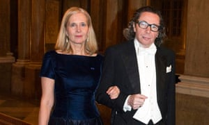 Nobel judge Katarina Frostenson and her husband, Jean-Claude Arnault, in Stockholm.