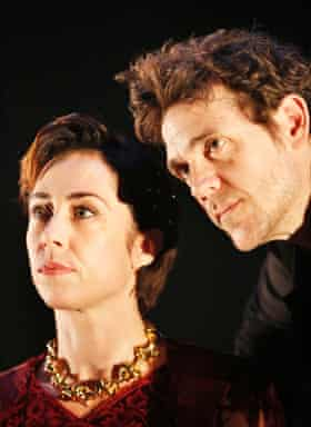 Sofie Gråbøl and Jamie Sives in James III: The True Mirror.