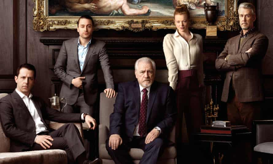 Dynasty… The cast of Succession.