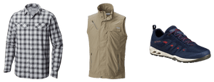 Get ready for the elements with Columbia Sportswear