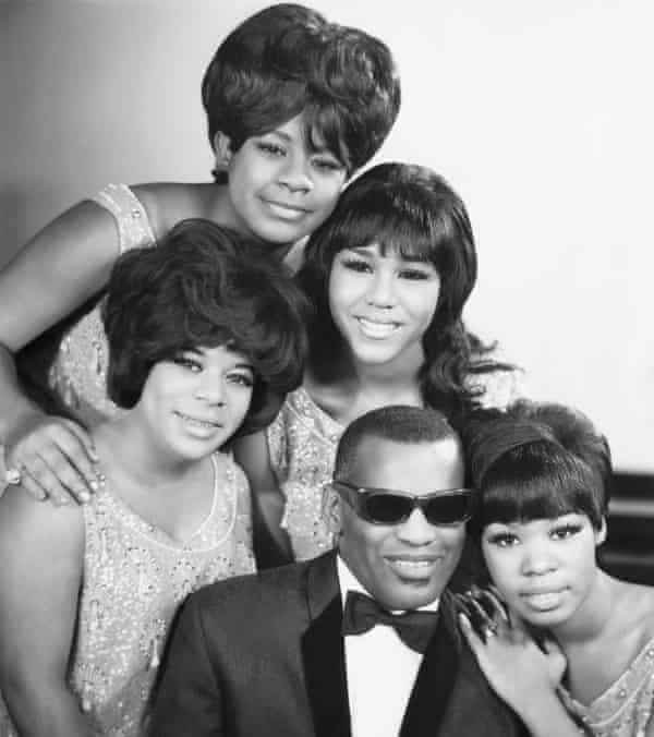 Merry Clayton in 1965 as one of the Raelettes, backup singers for Ray Charles