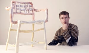James Shaw and his Plastic Baroque chair