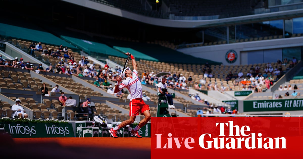 French Open 2021: Coco Gauff wins, Djokovic and Nadal in action – live!