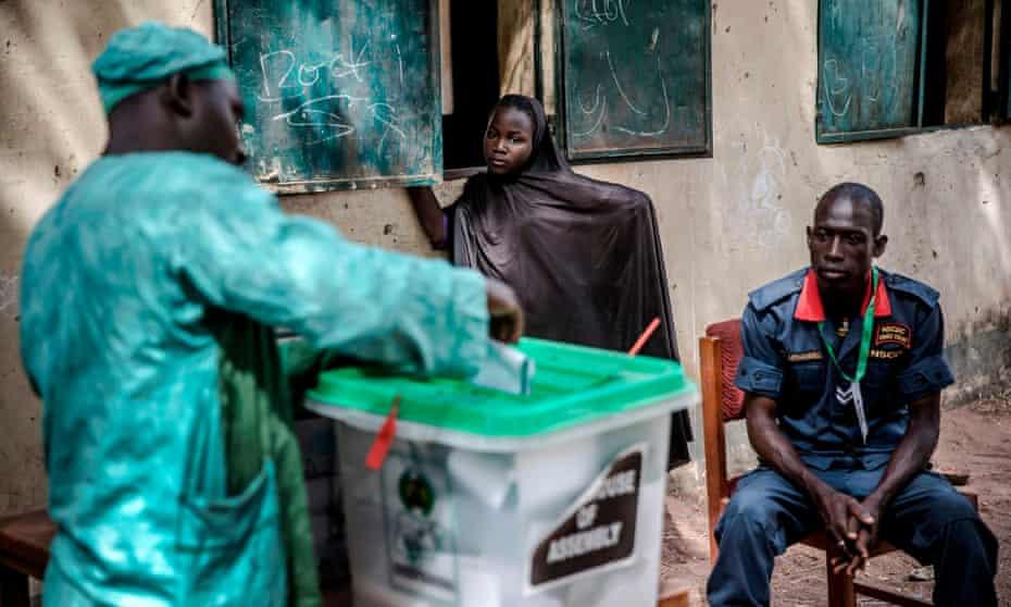 Nigeria election.