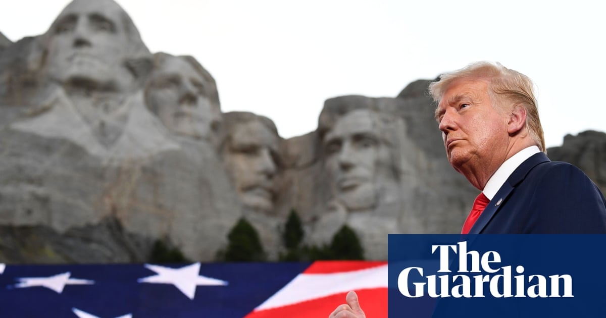 US under siege from 'far-left fascism', says Trump in Mount Rushmore speech - The Guardian