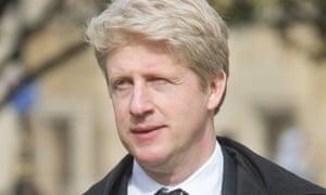 The UK's higher education minister, Jo Johnson