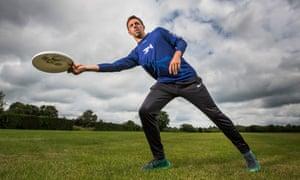 James Mead, jogador do frisbee.