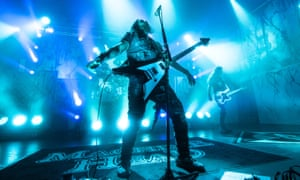 Revolutionary … Robb Flynn of Machine Head.