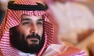 The Saudi crown prince, Mohammed bin Salman