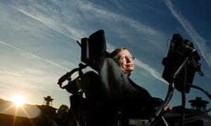 The physicist Stephen Hawking
