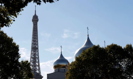 The Russian Orthodox Holy Trinity Cathedral in Paris
